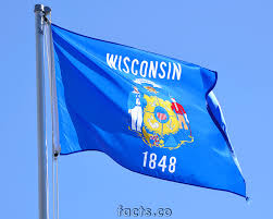 Wiscons by Wisconsin Flag Colors Wisconsin Flag Meaning