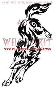 wolf leap tribal swirl tattoo by wildspiritwolf on deviantart