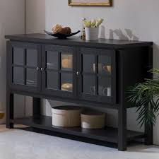 Black Buffet Hutch by Sideboards Interesting Black Buffet Server Buffet Table Furniture