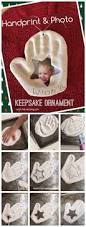 handprint u0026 photo keepsake ornament teach me mommy