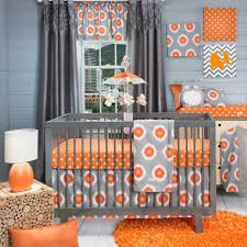 Orange And Blue Shower Curtain Exclusive Design Orange Andrey Curtains Together With Baby Nursery