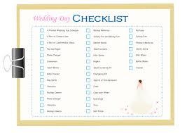 wedding checklist wedding day checklist free wedding day checklist templates