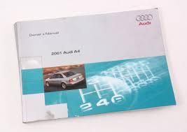 2001 audi a4 b5 owner u0027s manual case operation book genuine