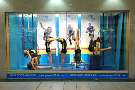 gymnast live window display 2007 by gsos gymnasts pupils best