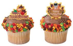 carpe cupcakes thanksgiving cupcake picks