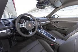 Porsche Cayman Interior 2014 Porsche Cayman S Review Car Reviews