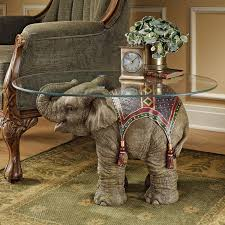elephant living room brown antique unique glass top elephant coffee table designs to