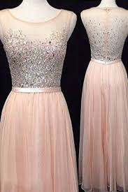 2016 prom dresses backless evening gowns light blush pink formal