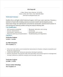 Engineering Resumes Examples by Free Engineering Resume Templates 49 Free Word Pdf Documents