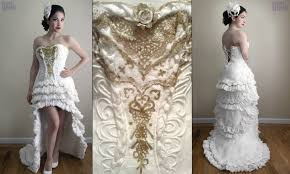 wedding dress cheap see the amazing wedding dress that cost just 10 but just wait