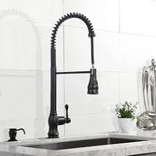 industrial kitchen faucets stainless steel vigo matte black pull out spray kitchen faucet deco kitchen