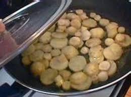 topinambour recette cuisine topinambours sautés ou à la crème recettes faciles de topinambours