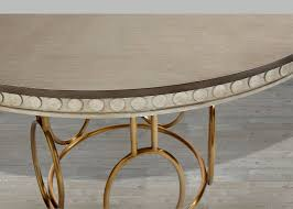 stanley furniture venice beach round dining table
