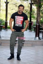 john abraham promotes rocky handsome in delhi bollywood garam
