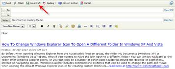 yahoo mail tip create templates for form letters using the draft