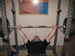 Rack Bench Press Dr Hit U0027s High Intensity Bodybuilding A Power Rack Program For Chest