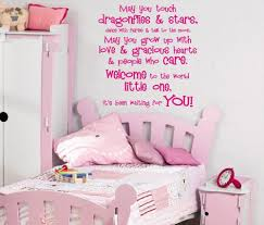 online get cheap childrens bedroom decorating aliexpress com may you touch dragonflies stars quotes art wall decal sticker for childrens bedroom decoration wall