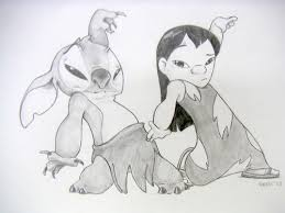 lilo and stitch cute drawing google search on we heart it
