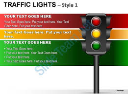 stoplight report template traffic lights style 1 powerpoint presentation slides powerpoint