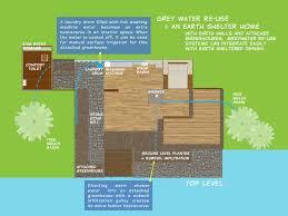 Earth Sheltered Floor Plans Earth Shelter Grey Water Re Use Jasper Middelberg