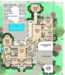 large luxury house plans plan 36323tx estate home plan with cabana room luxury houses