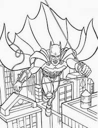 batman hit with full force coloring pages for kids printable