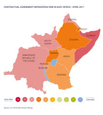 East Africa Map Risks And Opportunities Facing Investors In East Africa Jlt