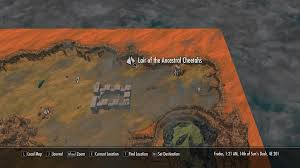 Coldharbour Treasure Map Image Lair Of The Ancestral Cheetahs On Map Jpg Legacy Of The