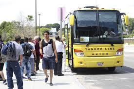 Lufkin Bus Barn Few Riders Jump On Bus Service To Boston Local News Salemnews Com