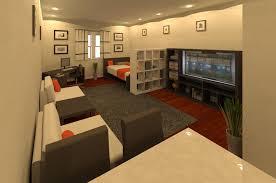 best studio apartment layout contemporary home iterior design