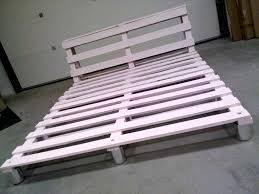 How To Make A Wood Pallet Platform Bed by Pallet Platform Bed