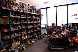 john lasseter office pixar looks like he is working on cars 2
