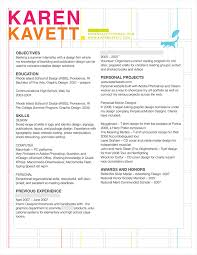 Sample Graphic Design Resumes by How To Design A Resume Karen Kavett