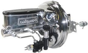 new power brake booster u0026 wilwood polished master cylinder u0026 valve