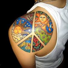 image result for melting peace sign tattoo tattoo ideas