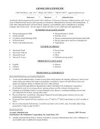 Sample Resumes For College Students With No Experience by Resume Buyer Resume Computer Graphics Internships Customer