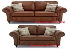 Classic Chesterfield Sofa Leather Chesterfield Sofa Ebay