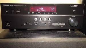 small home theater receiver yamaha rx v473 5 1 channel network av receiver review youtube
