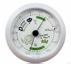 thermometre chambre b chambre de bébé de bande dessinée thermomètre et hygromètre