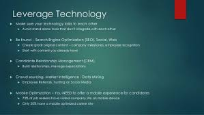 siege social mobile your employer brand siege how social media is changing recruit