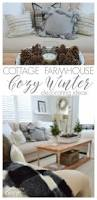 Farmhouse Living Room Decorating Ideas by 38 Best Winter Decorating Ideas Images On Pinterest Christmas