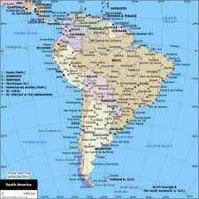 map of cities in south america map of america cities holidaymapq