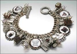 chain bracelet with charms images Witch silver charm bracelet silver crystal halloween charm bracelet jpg