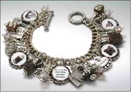 blue cameo charm bracelet charm bracelet cameo jewelry