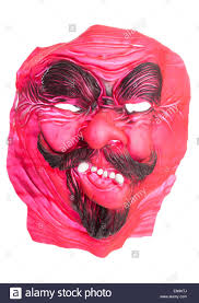 scary halloween cutouts scary halloween fancy dress devil mask cutout stock photo royalty