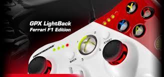 thrustmaster xbox 360 thrustmaster gpx lightback gamepad for pc xbox 360 price in