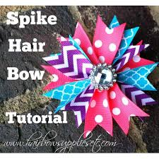 cool hair bows the 25 best how to spike hair ideas on ribbon bows