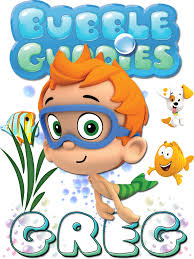 personalized custom name t shirt bubble guppies nonny bubble