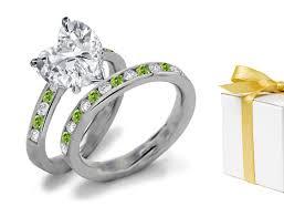 green wedding rings green wedding rings hazine acessórios green