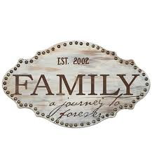 Family Wood Sign Home Decor Craftdrawer Crafts Create A Typography Wood Sign For Your Home Decor